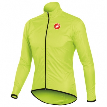 Castelli squadra long jacket gelb-fluo herren 10504-032