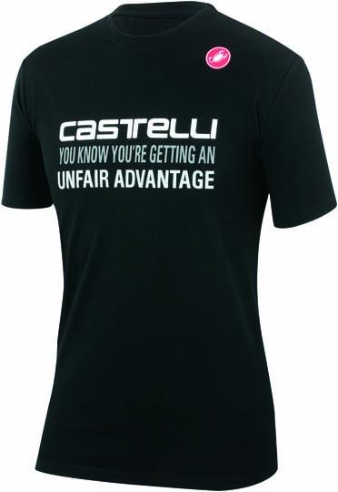 Castelli advantage T-shirt schwarz Herren 14074-010