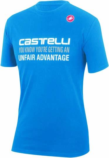 Castelli advantage T-shirt blau Herren 14074-059