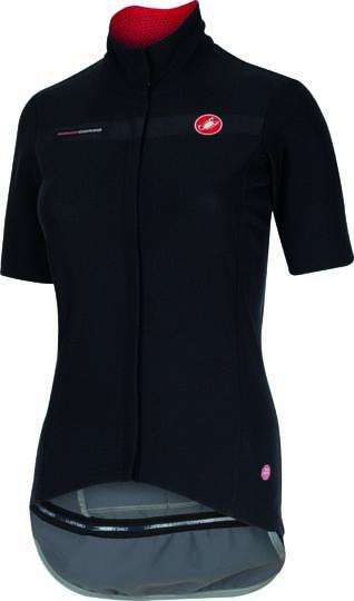 Castelli gabba W kurzarm jacket schwarz Damen 15574-010