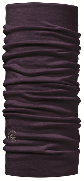 BUFF Solid plum Multifunktionstuch Lila