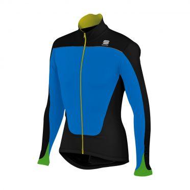Sportful Force Thermal Jersey Schwarz-Blau Herren 01276-274