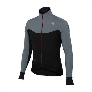 Sportful R&D light Langarm Jacket Schwarz/Grau Herren