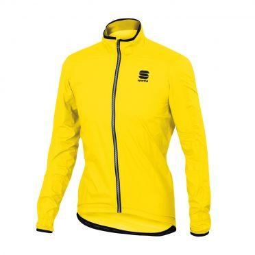Sportful Stelvio Langarm Jacket Gelb Fluo Herren