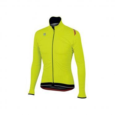 Sportful Fiandre ultimate WS Langarm Jacket Gelb Fluo/Schwarz Herren