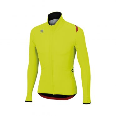 Sportful Fiandre light wind Langarm Jacket Gelb Herren