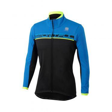 Sportful Giro softshell Jacke Schwarz/Blau Herren