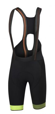 Sportful Bodyfit pro ltd Bibshort Schwarz/Gelb Fluo Herren