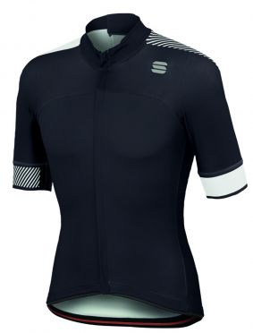 Sportful Bodyfit pro classics jersey Kurzarm Radtrikot Schwarz/Weiß Herren