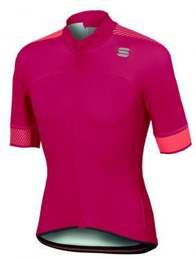 Sportful Bodyfit pro classics jersey Kurzarm Radtrikot Rosa Herren
