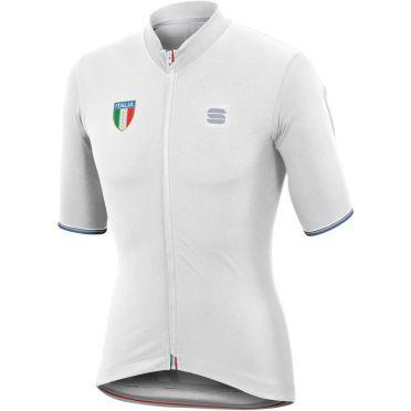 Sportful Italia CL jersey Kurzarm Radtrikot Weiß Herren