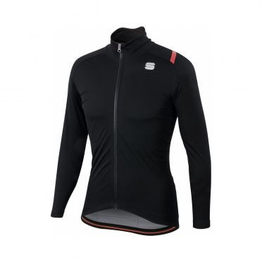 Sportful Fiandre ultimate 2 WS Langarm Jacket Schwarz Herren