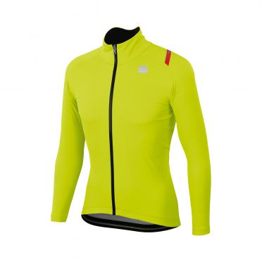Sportful Fiandre ultimate 2 WS Langarm Jacket Gelb Herren