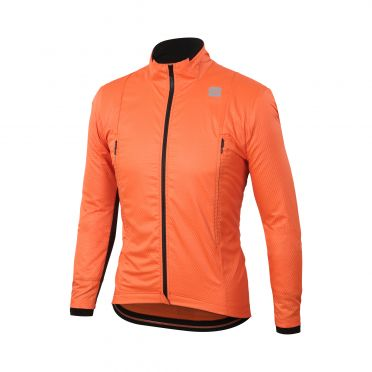 Sportful R&D intensity Langarm Jacket Orange Herren