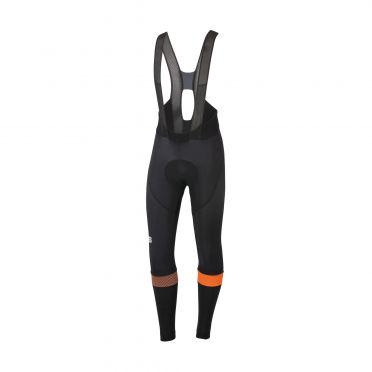 Sportful Bodyfit pro bibtight Trägerhose Schwarz/Orange Herren