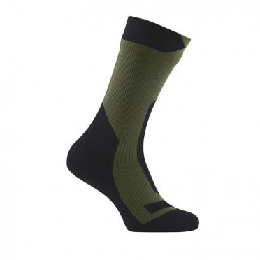 Sealskinz Trekking thick mid waterproof Socken Olive