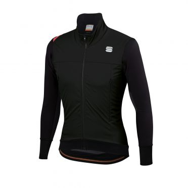 Sportful Fiandre Strato wind Langarm Jacket Schwarz Herren