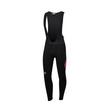 Sportful Neo bibtight Schwarz/Rot Herren