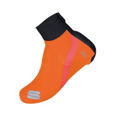 Sportful Fiandre Überschuhe Schwarz/Orange