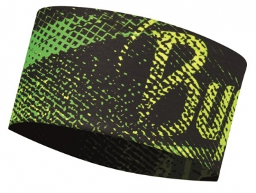 BUFF Headband Stirnband flash logo Gelb fluor