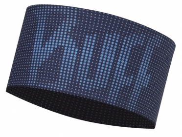 BUFF Headband Stirnband deep logo dark navy