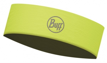 BUFF Headband Stirnband slim R-solid Gelb fluor