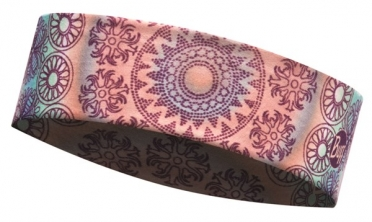 BUFF Headband Stirnband slim shantra violet