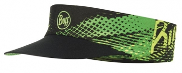 BUFF Run visor R-flash logo Gelb fluor