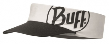 BUFF Run visor R-solid Weiß