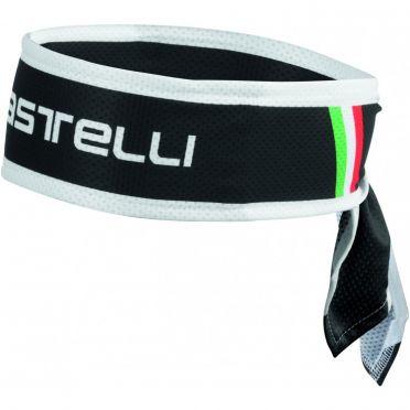 Castelli Headband Schwarz