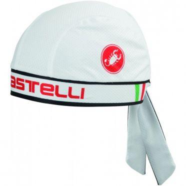 Castelli Bandana Weiß Unisex