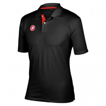 Castelli race day polo schwarz Herren 13096-010
