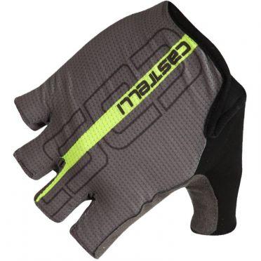 Castelli Tempo glove Radhandschuhe Schwarz/Fluo Gelb Herren
