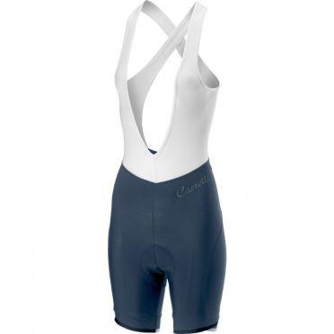 Castelli Vista bibshort Trägerhose Blau Damen