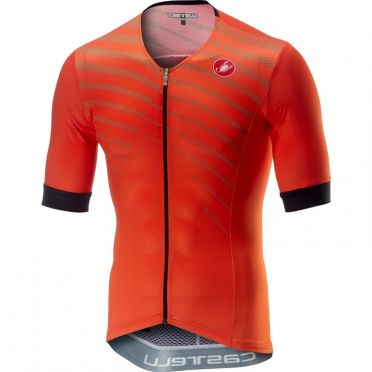 Castelli Free Speed Race Jersey Tri Top Orange Herren