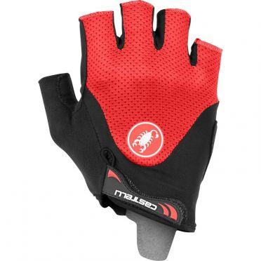 Castelli Arenberg gel 2 glove Schwarz/Rot Herren