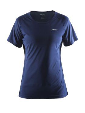 Craft Prime Kurzarm Laufshirts Blau/Navy Damen