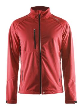 Craft Bormio Shoft Shell Winterjacke Rot Damen