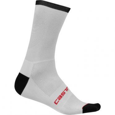 Castelli Ruota 13 socks Weiß Herren