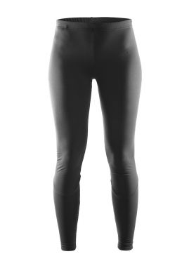 Craft Mind Winter Laufhose Tight Schwarz Damen