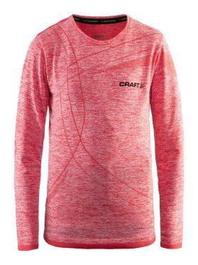 Craft Active Comfort Langarm Unterwäsche Rot/Poppy Kinder