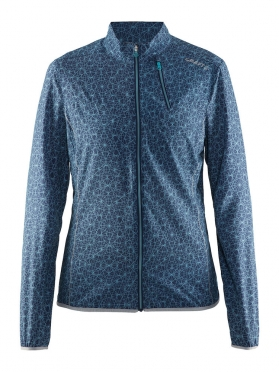 Craft Mind Laufjacke Blau(print) Damen
