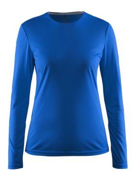 Craft Mind Langarm Laufshirt Blau Damen