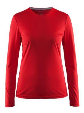 Craft Mind Langarm Laufshirt Rot Damen