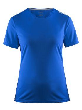 Craft Mind Kurzarm Laufshirt Blau Damen
