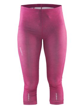 Craft Mind capri 3/4 Laufhose Rosa Damen