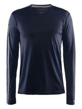 Craft Mind Langarm Laufshirt Blau/Navy Herren