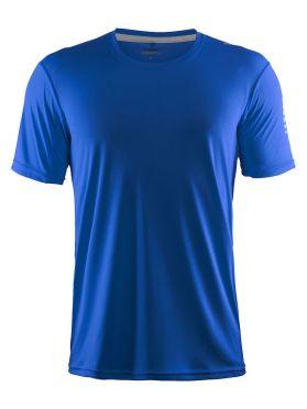 Craft Mind Kurzarm Laufshirt Blau Herren