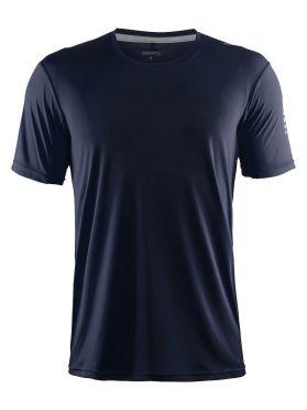 Craft Mind Kurzarm Laufshirt Blau/Navy Herren