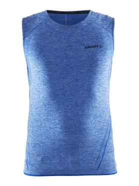 Craft Active Comfort Ärmelloses Unterhemd Blau/sw Herren